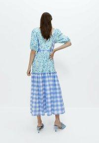 Uterqüe - Day dress - blue - 1