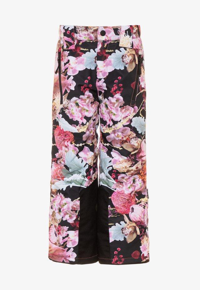 JUMP PRO - Pantaloni da neve - black/pink