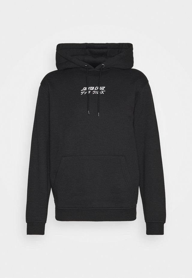 OFF HANDO DOT HOOD UNISEX  - Sweatshirt - black