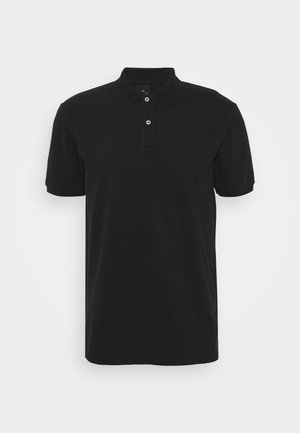 GARMENT-DYED STRETCH COTTON- PIQUE POLO - Poloshirt - antra