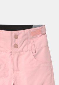 Roxy - DIVERSION MEMO - Zimní kalhoty - powder pink - 2