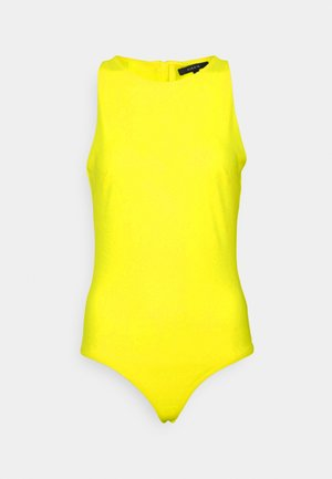 SUZY BODY ZIPPER - Top - yellow