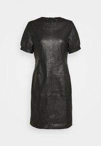 Ibana - ODILA - Shift dress - black - 4