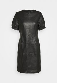 ODILA - Shift dress - black
