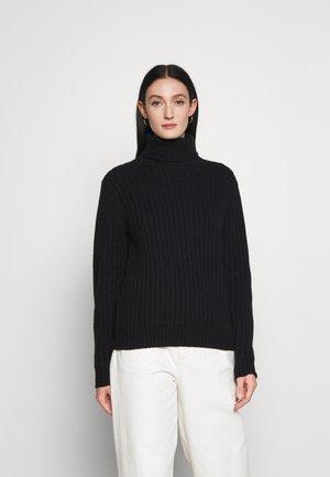MARCIA - Stickad tröja - black