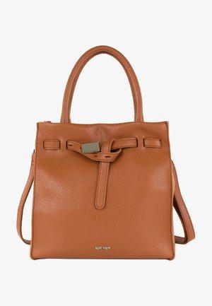 SINDY - Handbag - cognac