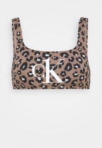 Calvin Klein Swimwear - BRALETTE PRINT - Bikini top - stephen neutral - 4