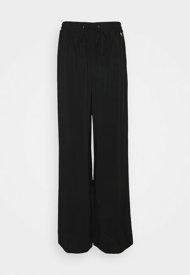 GEORGETTE - Trousers - nero