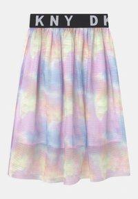 DKNY - A-line skirt - multi coloured - 1