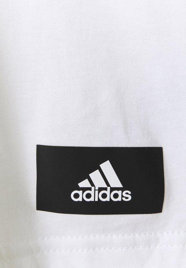 AGRAVIC PARLEY PRIMEBLUE SHIRT TRAIL RUNNING - T-shirt print - white/black