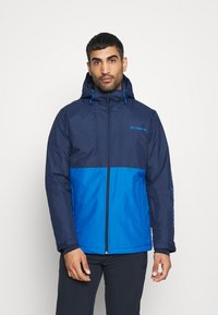 Columbia - TIMBERTURNER JACKET - Snowboard jacket - bright indigo/collegiate navy - 0
