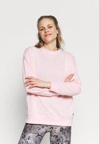 Cotton On Body - LONG SLEEVE CREW - Sweatshirt - pink sherbet - 0