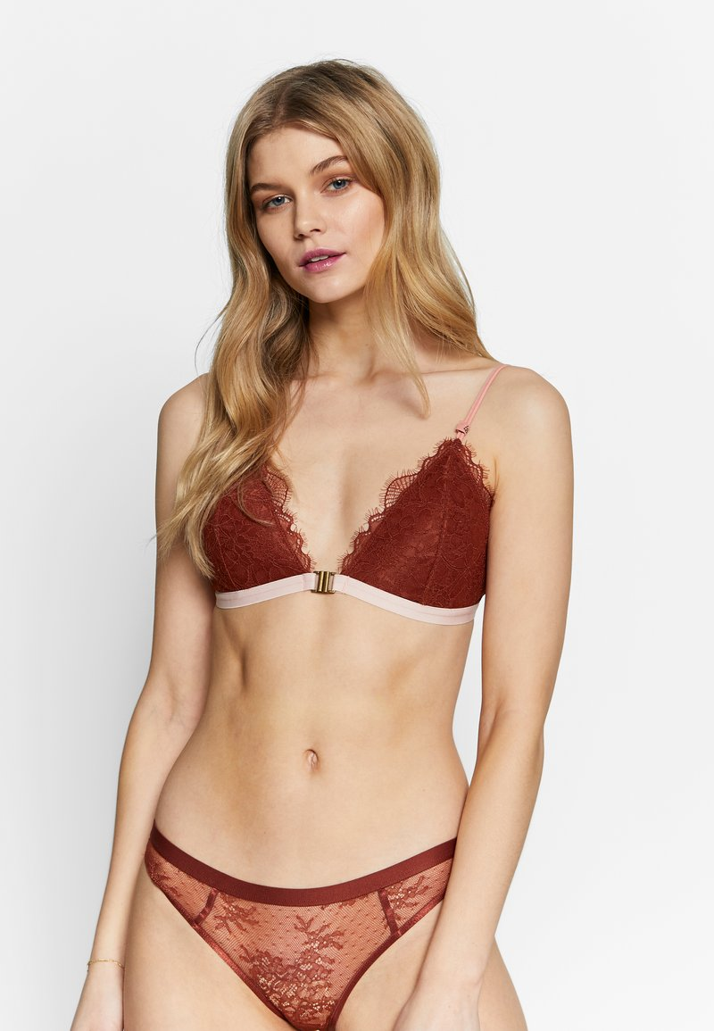 LOVE Stories - HAZEL - Triangel-BH - chocolat