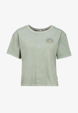 LONGBOARD  - Camiseta estampada - light green