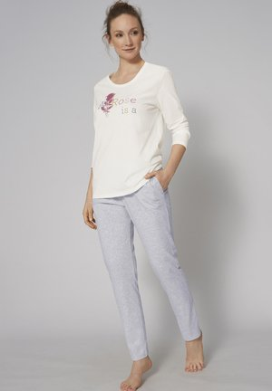 SET - Pyjama set - silk white