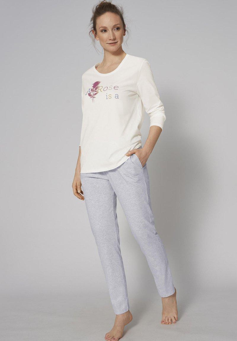 Triumph - SET - Pyjama set - silk white