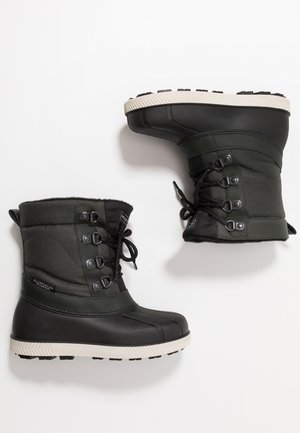 Snowboots  - black/green