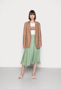 Saint Tropez - CORAL SKIRT - A-line skirt - basil - 1