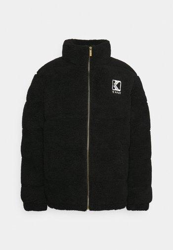 RETRO PUFFER JACKET UNISEX - Winter jacket - black