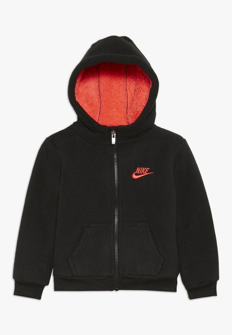 Nike Sportswear - FUTURA - Fleece jacket - black