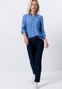 zero - Button-down blouse - viola blue - 1