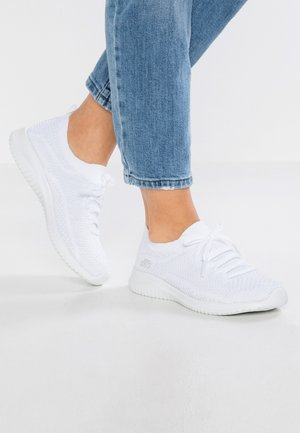 ULTRA FLEX - Slipper - white/silver