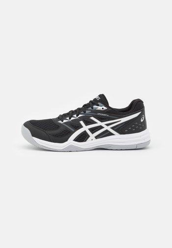 UPCOURT 4 - Handball shoes - black/white