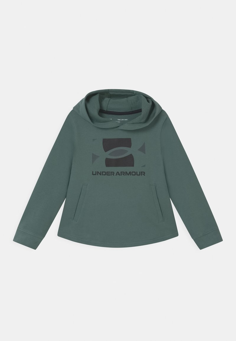 Under Armour - RIVAL HOODIE - Sweatshirt - toddy green