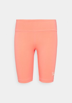 BIKE SHORT - Collant - twisted coral