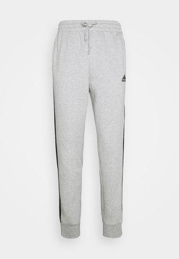 3 STRIPES  ESSENTIALS - Pantaloni sportivi - medium grey heather/black