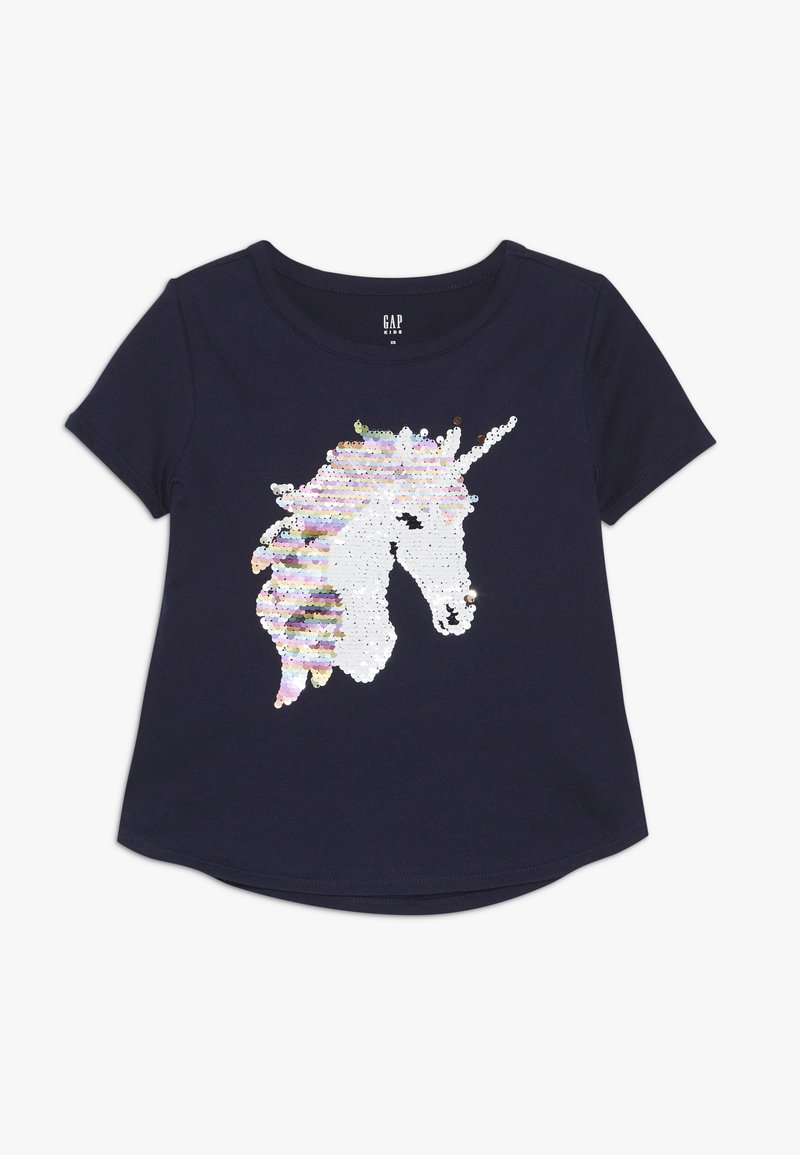 GAP - GIRL - T-shirts print - navy uniform