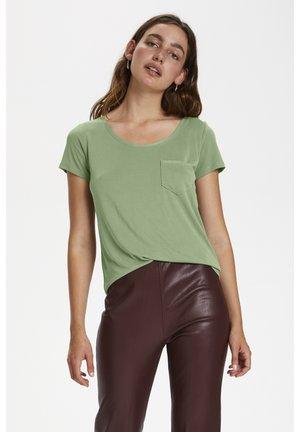 Basic T-shirt - hedge green