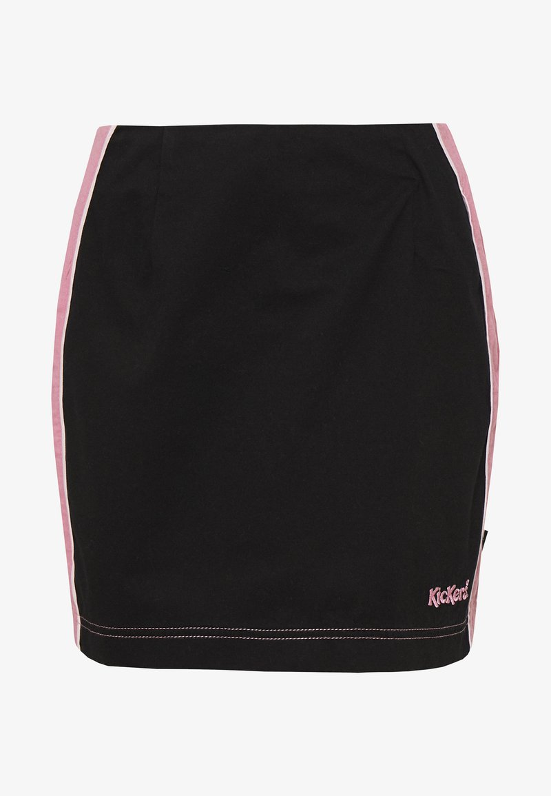 Kickers Classics - SIDE SEAM PANELLED MINI SKIRT - Minirok - pink/black