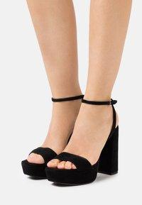 Steve Madden - BEAUTY - Platform sandals - black - 0