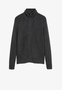 Mango - Zip-up hoodie - grey - 6