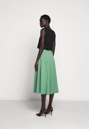 FULL SWEEP SKIRT - A-line skirt - malachite