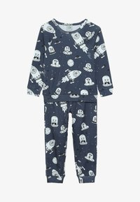 igi natur - BOYS - Nachtwäsche Set - dark blue - 3
