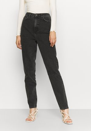 VMZOE MOM JEANS - Jeansy Relaxed Fit - black
