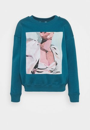 IMANIR - Sweatshirt - duck blue