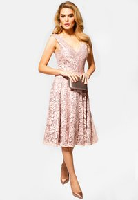 HotSquash - FLORAL  - Cocktail dress / Party dress - light pink - 1