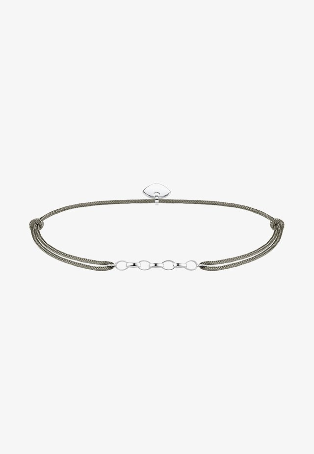 LITTLE SECRET  - Armband - silver coloured, grey