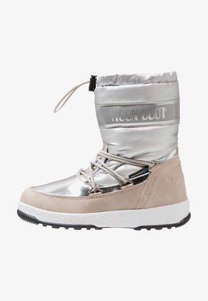 GIRL SOFT WP - Zimní obuv - silver