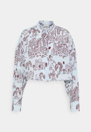 Button-down blouse - summerinfrance