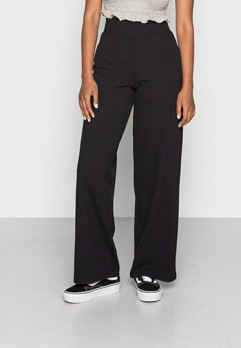 JENNA WIDE LEG TROUSERS - Pantaloni - black
