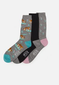 Wild Feet - TIGER SOCKS 3 PACK - Sokken - multi-coloured - 0