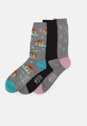 TIGER SOCKS 3 PACK - Ponožky - multi-coloured