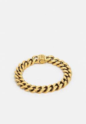 CURB UNISEX - Armbånd - antique gold-coloured