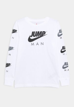JUMPMAN TRIPLE THREAT UNISEX - Long sleeved top - white