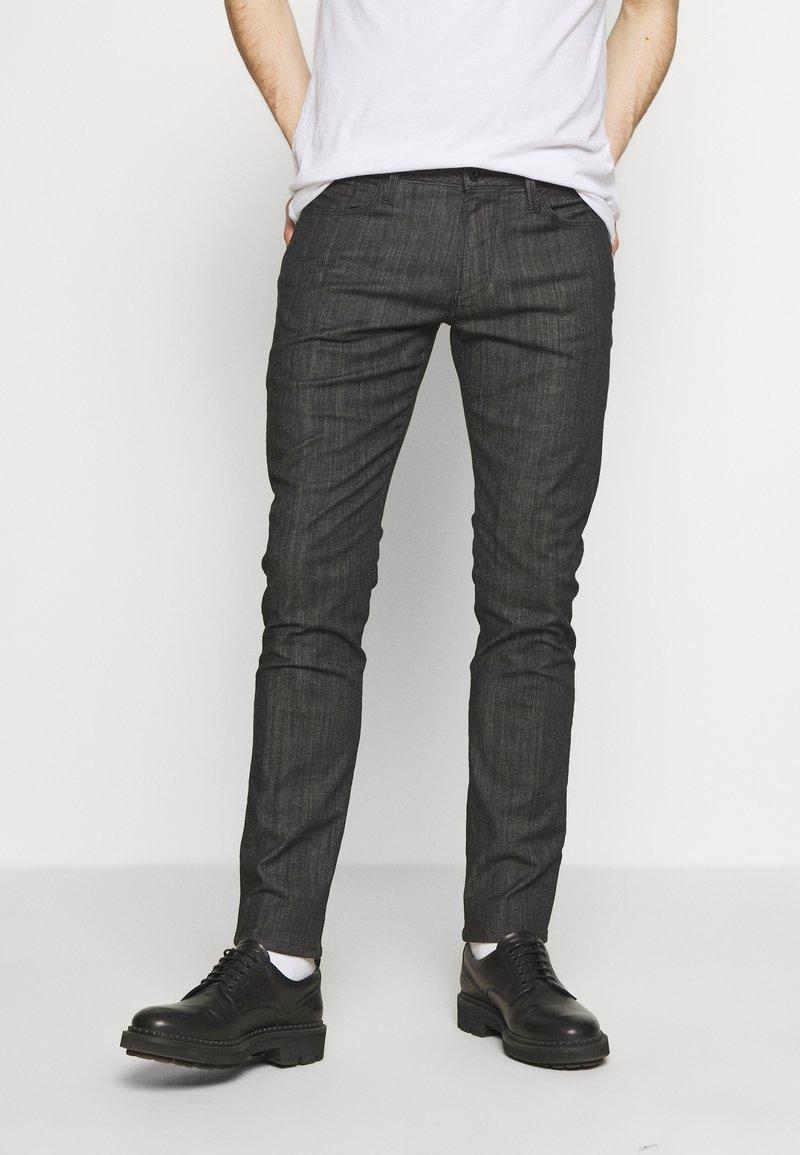 Emporio Armani - NEON - Jeans Slim Fit - nero/verde