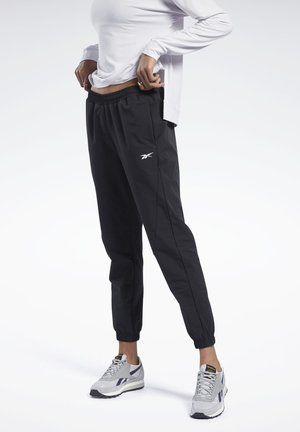 STRETCH WOVEN JOGGERS - Tracksuit bottoms - black